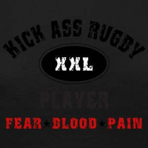 KICK ASS RUGBY PLAYER - Women's Premium Longsleeve Shirt