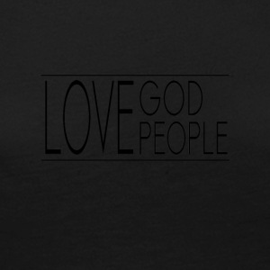 Love God Love People - Women's Premium Longsleeve Shirt