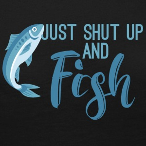 Fishing / Anglers / Angelsport: Just Shut Up And Fis - Women's Premium Longsleeve Shirt
