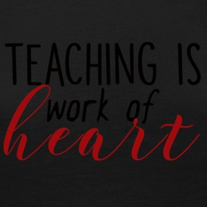 Teacher / School: Teaching Is Work Of Heart - Women's Premium Longsleeve Shirt