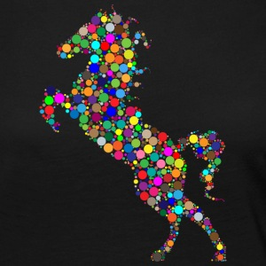 Colorful jumping horse - Women's Premium Longsleeve Shirt