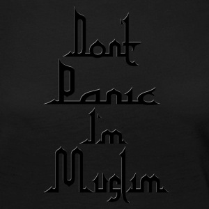 Don t Panic in Muslim - Women's Premium Longsleeve Shirt