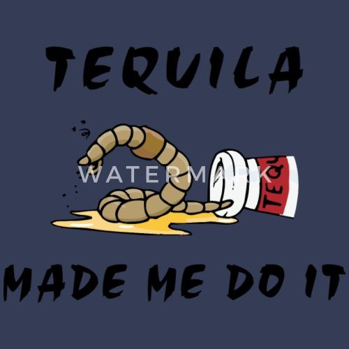 Tequila Made Me Do It T-shirt manches longues premium Femme   Spreadshirt 8c26bbc4435c