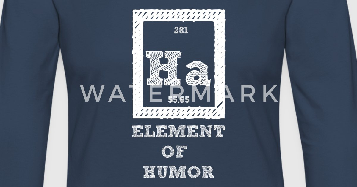 Periodic table ha element of humor by sg design spreadshirt urtaz Choice Image