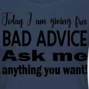 Free bad advice - just today ^^ - Women's Premium Longsleeve Shirt