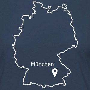 place to be: Munich - Women's Premium Longsleeve Shirt