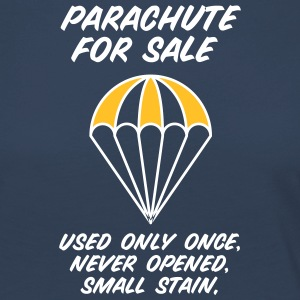 Parachute For Sale.Only Once Opened! - Women's Premium Longsleeve Shirt