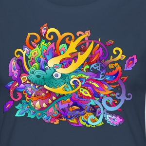 Chinese dragon - Women's Premium Longsleeve Shirt