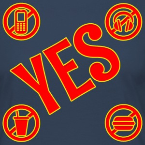 Signs,with YES - Women's Premium Longsleeve Shirt