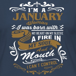 I'm a January woman shirt