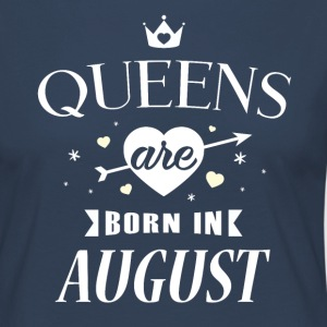 Queens are born in August - Women's Premium Longsleeve Shirt
