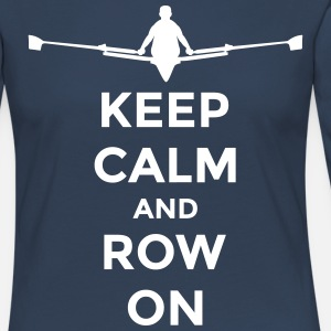 keep calm and row on club rowing Boot