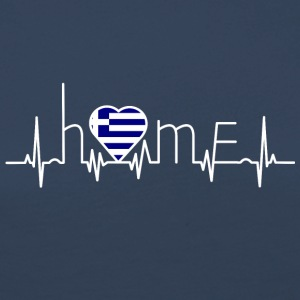 i love home homeland Greece - Women's Premium Longsleeve Shirt