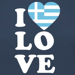 I love Greece - Women's Premium Longsleeve Shirt