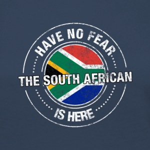 Have No Fear The South African Is Here Shirt - Women's Premium Longsleeve Shirt