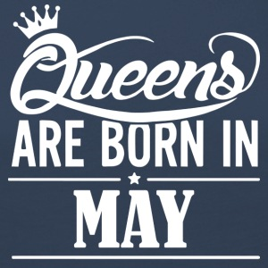 Queen May Birthday - Women's Premium Longsleeve Shirt