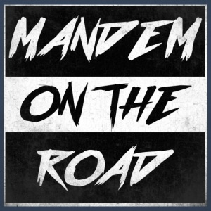 mandem_on_the_road0000 - Premium langermet T-skjorte for kvinner
