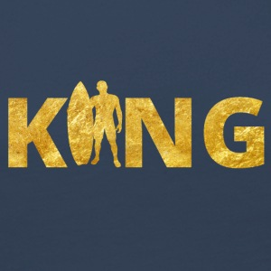 Surfer King Gold - Frauen Premium Langarmshirt