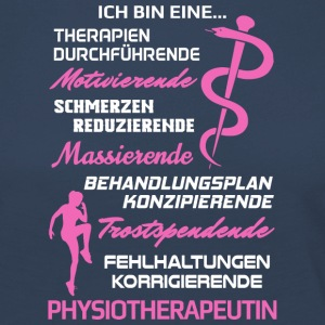 Physiotherapeutin/Physiotherapie/Physiotherapeut - Frauen Premium Langarmshirt