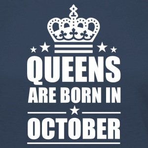 October Queen - Women's Premium Longsleeve Shirt