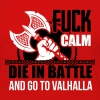 Viking - Die in battle and go to valhalla - Camiseta de manga larga premium mujer
