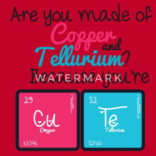 cute copper tellurium