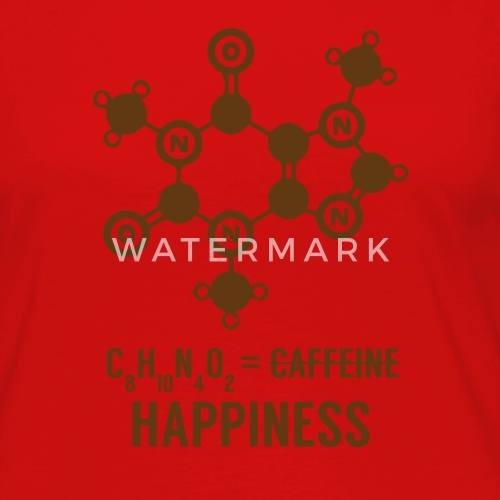 Periodic Table C8 H10 N4 O2 Happiness By Sg Design Spreadshirt