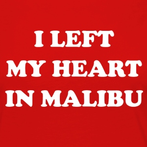 I Left My Heart In Malibu - T-shirt manches longues Premium Femme