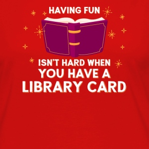 Library Card - Women's Premium Longsleeve Shirt