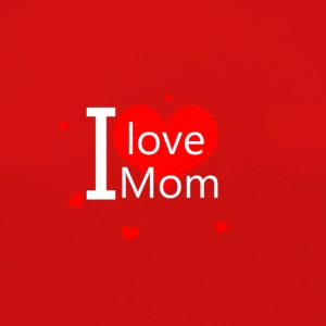 I love you mom - T-shirt manches longues Premium Femme