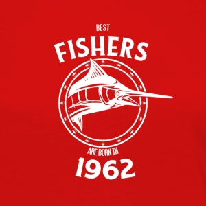 Present for fishers born in 1962 - Women's Premium Longsleeve Shirt