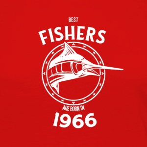 Present for fishers born in 1966 - Women's Premium Longsleeve Shirt