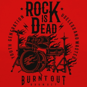 Rock Is Dead guitar Christmas gift new new - Women's Premium Longsleeve Shirt