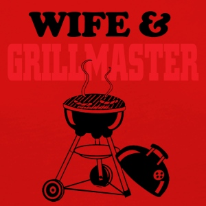 Wife and grillmaster - Women's Premium Longsleeve Shirt