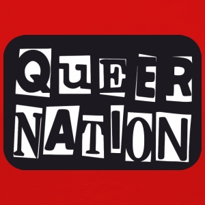 Queer Nation - Camiseta de manga larga premium mujer