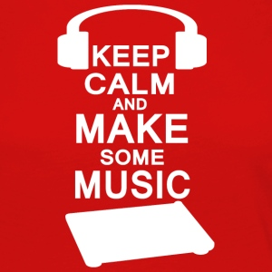 KEEP KALM make music - Frauen Premium Langarmshirt