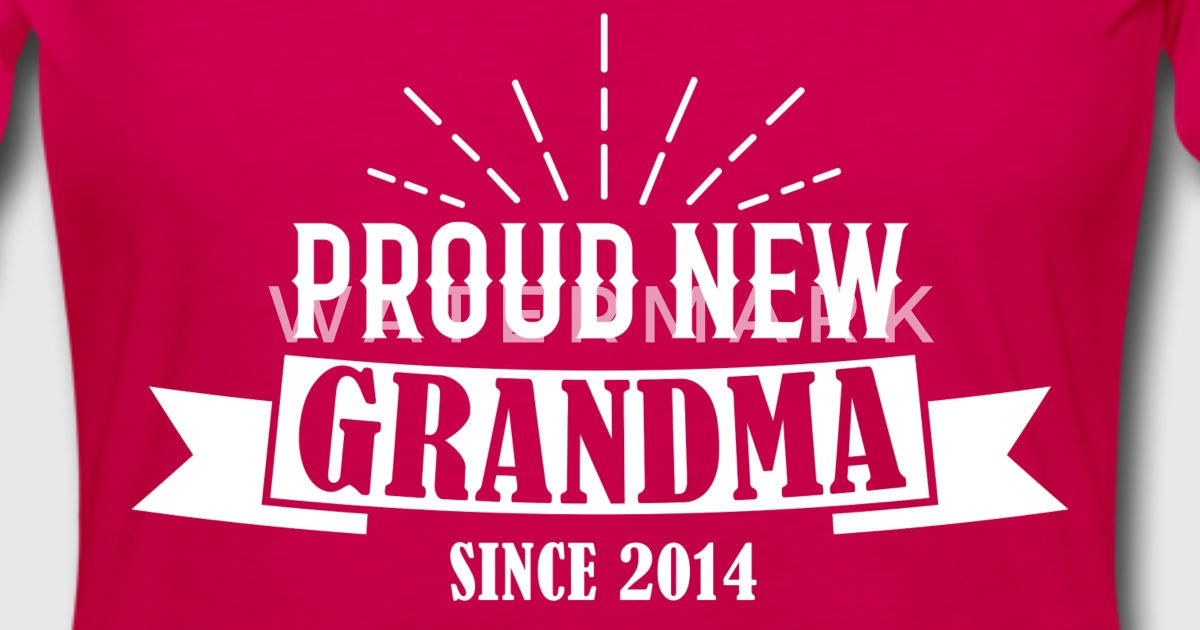 Stolze Oma 2014 Geschenk von unitedshirts | Spreadshirt