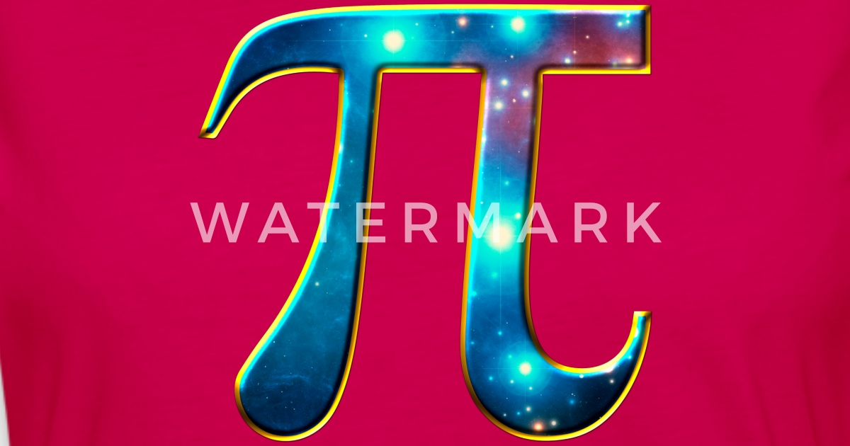 Pi Symbol Math Mathematics Universe Galaxy Space Van Yuma