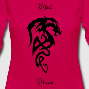 Tribal dragon - Women's Premium Longsleeve Shirt