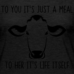 To you it's just a meal to her it's life itself