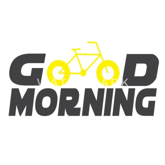 Guten Morgen Fahrrad Sport Geschenk Kinder Premium