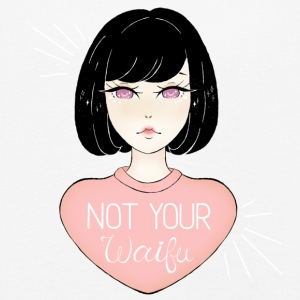 NOT YOUR WAIFU - Camiseta de manga larga premium niño