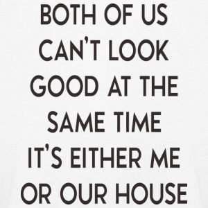 It's either me or house - haus - Kinder Premium Langarmshirt