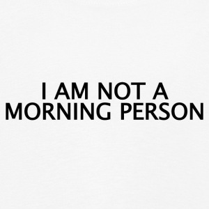 ++Not a Morning Person++ - Kinder Premium Langarmshirt