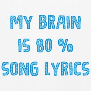 My brain 80 liric - music - Kids' Premium Longsleeve Shirt