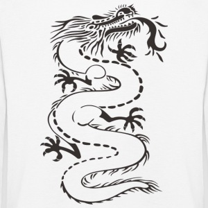 Mythical Chinese dragon - Kids' Premium Longsleeve Shirt