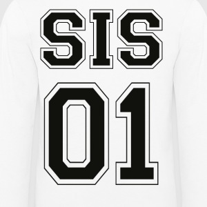 SIS 01 - Black Edition - Premium langermet T-skjorte for barn