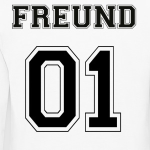 Friend - Black Edition - Kids' Premium Longsleeve Shirt