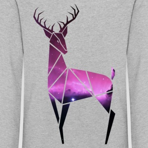 Mr. Galaxy Deer - Kids' Premium Longsleeve Shirt