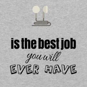 Audio engineer is the best job you will ever have - Kids' Premium Longsleeve Shirt